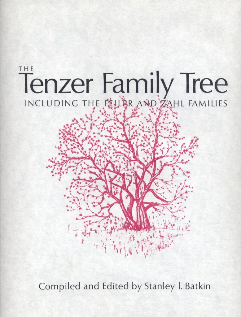 1) Tenzer Family Tree cover