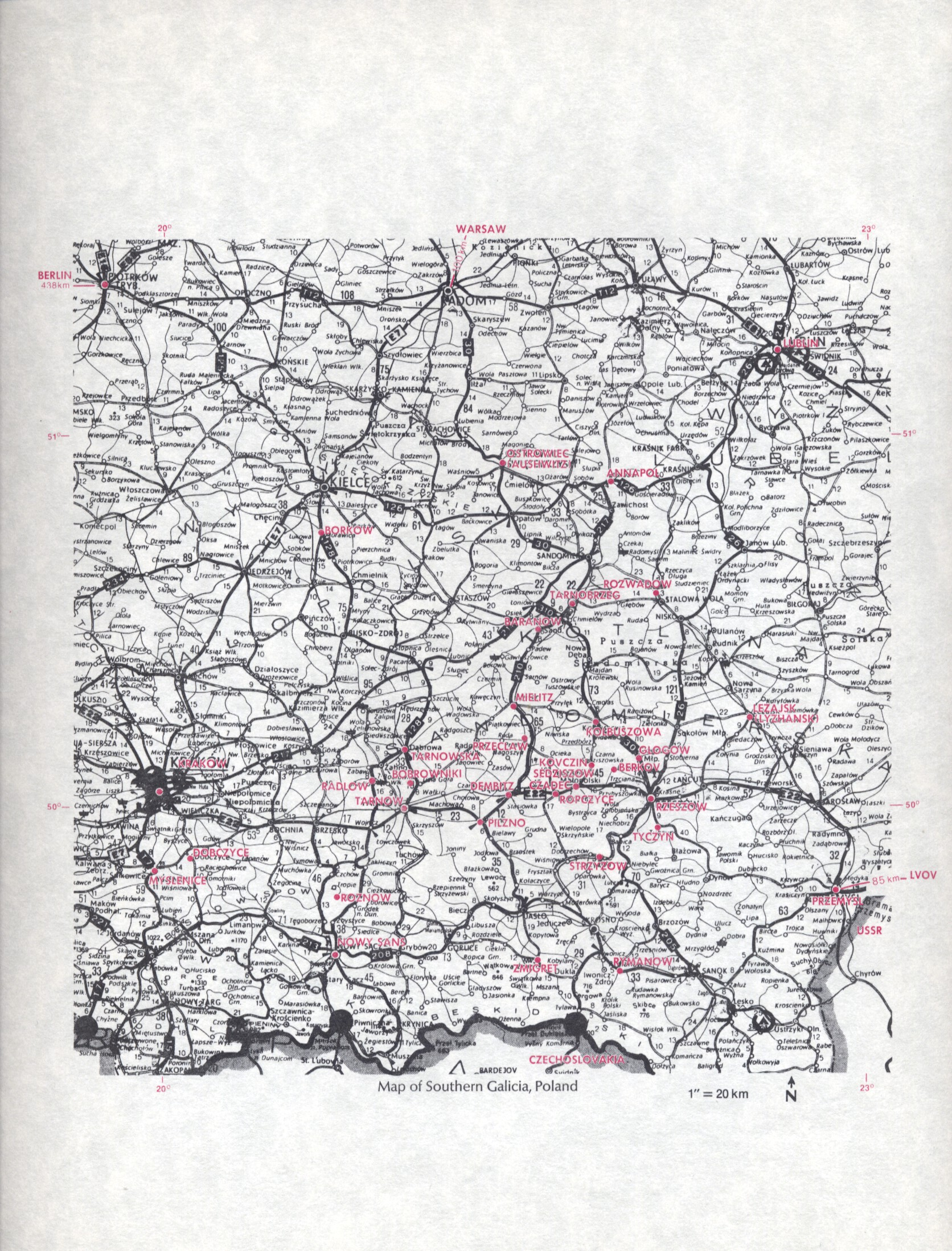 Onezer search image jack - 6 Map Of Southern Galicia Poland
